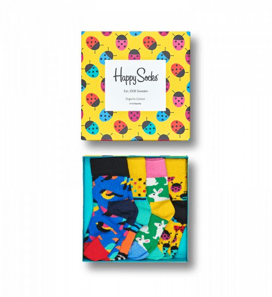 Happy Socks Happy Socks gift set ladybug 0-12 m
