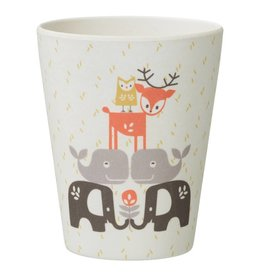 Fresk Fresk bamboo drinkbeker forest animals