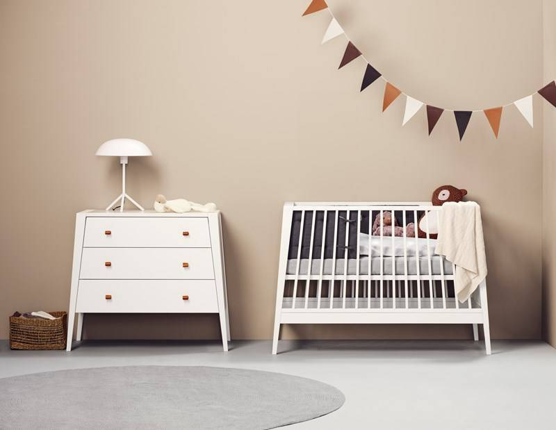 Leander Leander Linea babybed (tijdelijke actie: gratis matras)