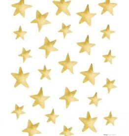 Lilipinso Lilipinso wall stickers star gold effect