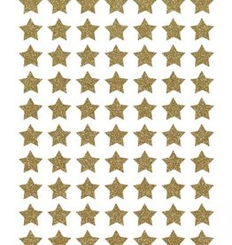 Lilipinso Lilipinso wall stickers stars glitter gold