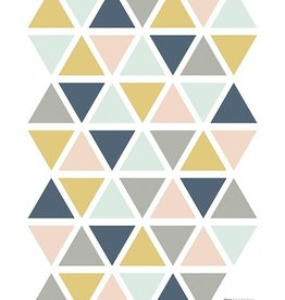 Lilipinso Lilipinso wall stickers triangles girl