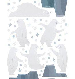 Lilipinso Lilipinso wall stickers juggler bears, iceberg