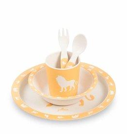 Jollein Jollein dinnerset Safari oker