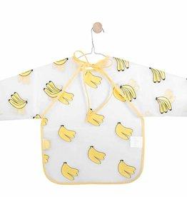 Jollein Jollein Slab waterproof met mouw Bananas