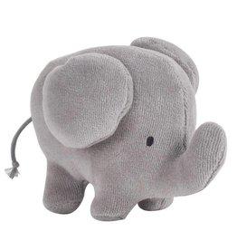 Tikiri Tikiri mijn eerste zoodiertjes organic cotton  olifant