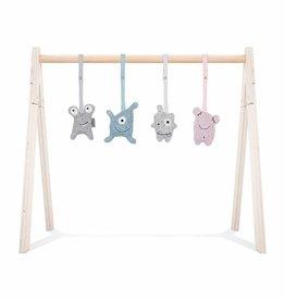 Jollein Jollein Babygym toys Confetti monsters (4pcs)