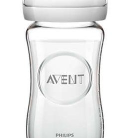 Avent Philips Avent glazen natural babyfles 240 ml