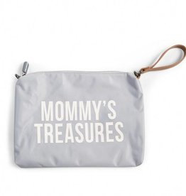 Childhome Childwood Mommy Clutch Grey Offwhite