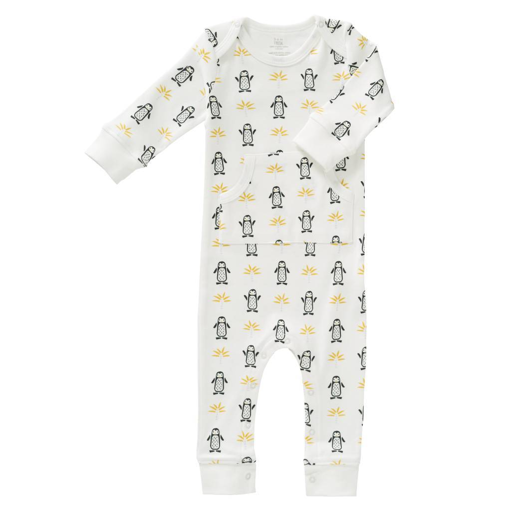 Fresk Fresk Pyjama zonder voet Pinguin