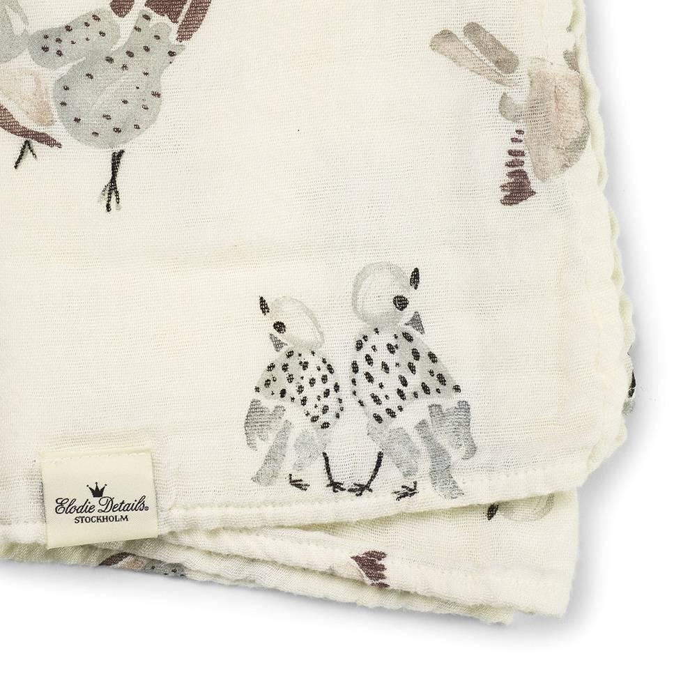 Elodie Details Elodie Details tetradoek bamboe feathered friend