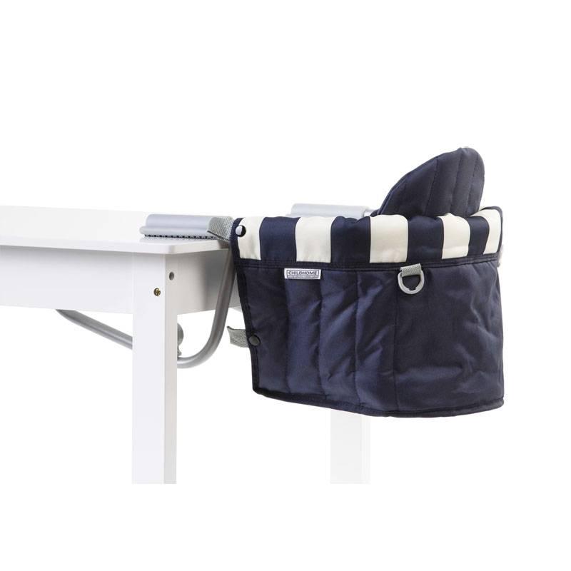Childhome Childhome tafelhanger blauw wit gestreept