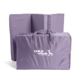 Childhome Childwheels matras voor reisbed antraciet