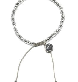 Proud Mama Proud Mama armband beads transparant