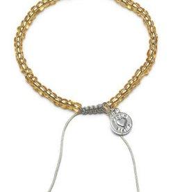 Proud Mama Proud Mama armband beads goud