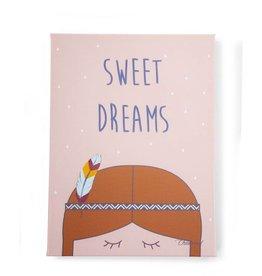Childhome Childwood schilderij sweet dreams