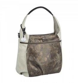 Lassig Lassig verzorgingstas casual hobo bag olive beige