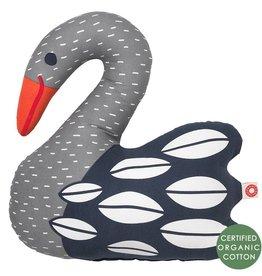 Franck Fischer Franck Fischer kussen Ellen swan dark
