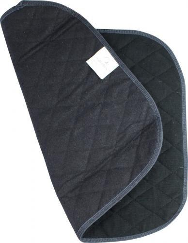 Stoelbeschermer met antislip zwart ps