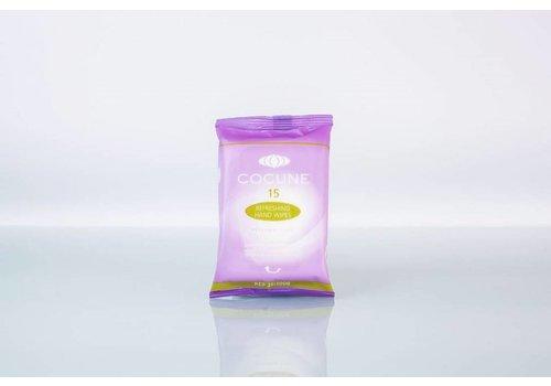 Handwipes antibacterieel en refreshing per 15 doekjes