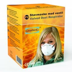 Ademhalingsmasker Ventiel FFP2 doosje 10st