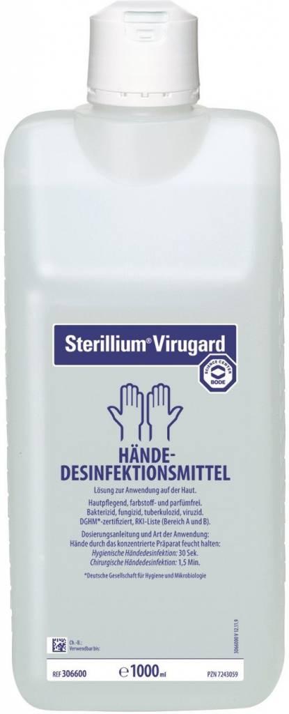 VIRUGARD 1000 ml Sterillium blokfles