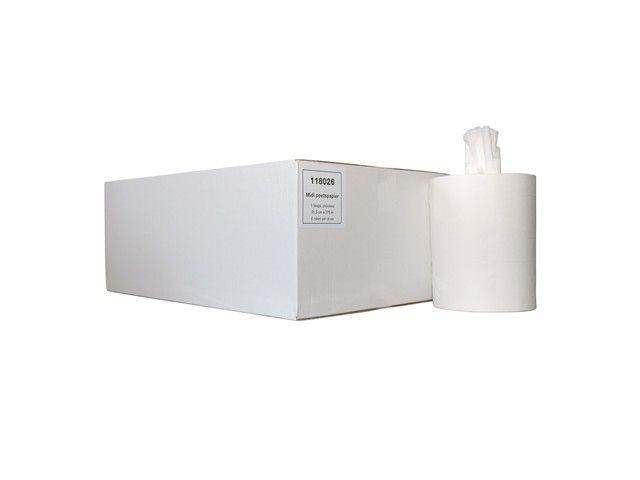 ACTIE MIDI papierrollen 1 laags zonder koker 275 mtr x 22cm per 6 rollen