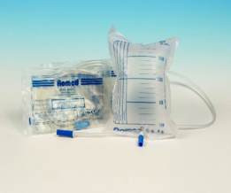 10x urinezakken 2 liter met ventiel steriel 90cm slang