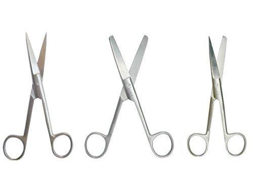 Chirurgische scharen stomp - spits gebogen 14 - 16cm p.s.