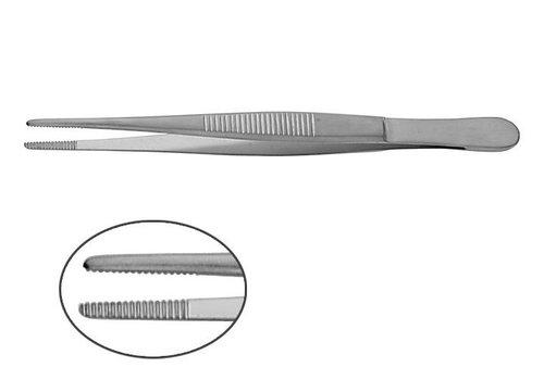 Anatomisch pincet 13 cm p.s.