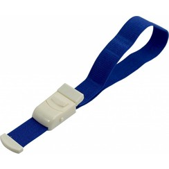 Stuwband blauw ps