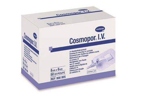 Cosmopor IV infuus fixatie pleister per 50st