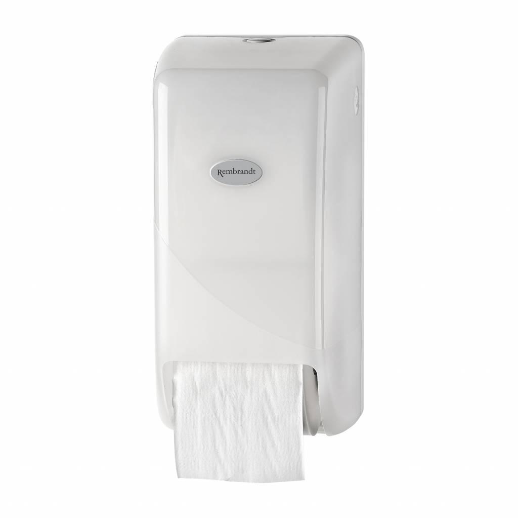 Witte toilet doprol dispenser p.s.