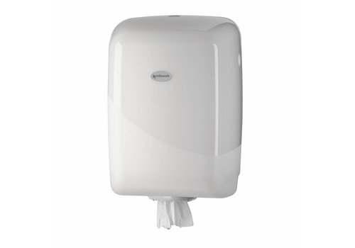 witte MIDI poetsrol dispenser White