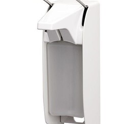 Aluminium dispenser WIT 500 ml ELS 26P/25 lange beugel