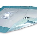 Hartmann Foliodrape® Protect Afdeklakens 50x60 met venster, zelfklevend.