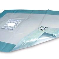 Foliodrape® Protect Afdeklakens met venster, zelfklevend.