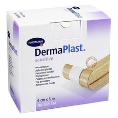 wondpleister rol Dermaplast Sensitive 5m x 6cm