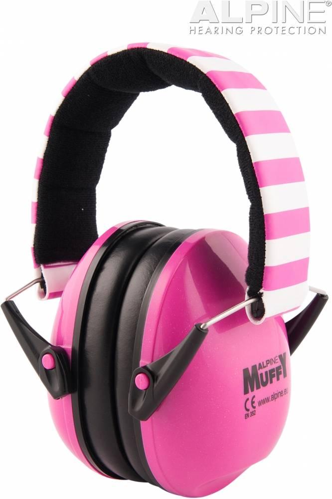 Muffy oorkappen - roze