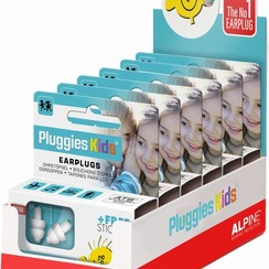 Pluggies Kids display - 6 stuks