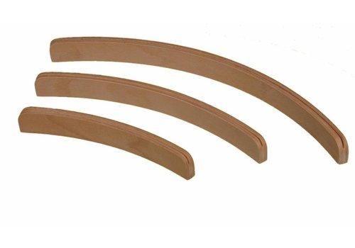Kaartenstandaard hout - 50 cm