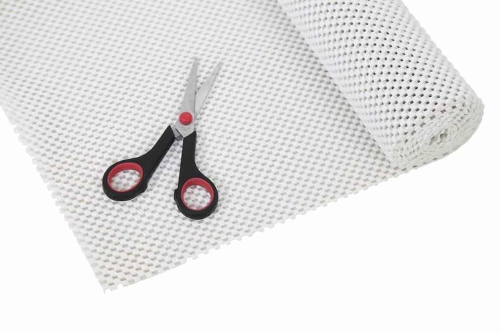 Anti-slip net rol - 30,5 x 183 cm / wit
