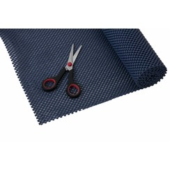 Anti-slip net rol - 30,5 x 183 cm / donkerblauw