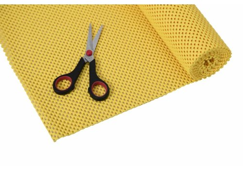 Anti-slip net rol - 30,5 x 183 cm / geel