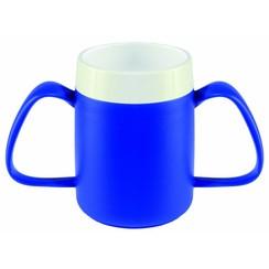 Conische ergobeker - blauw