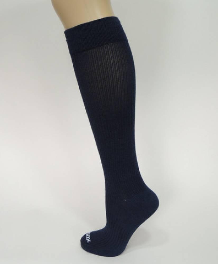 Compressiesokken - blauw, maat 43-47