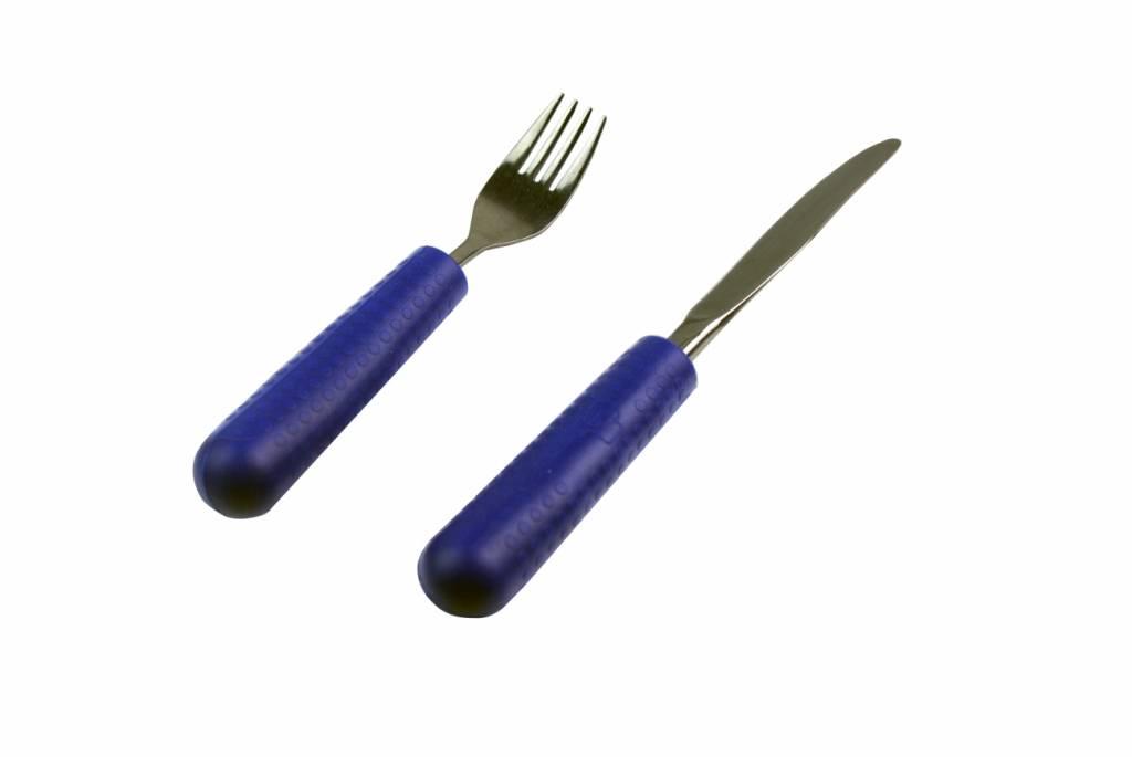 Bestek Grip - kind blauw