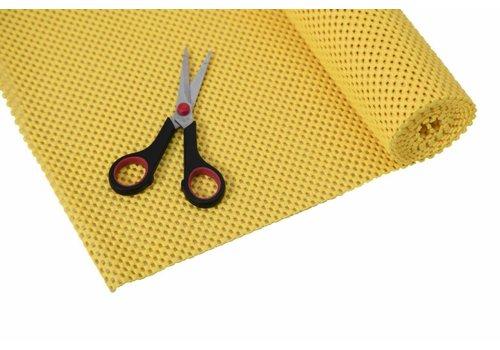 Anti-slip net rol - 51 x 183 cm / geel