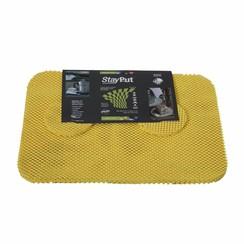 Placemat en onderzetter set - geel