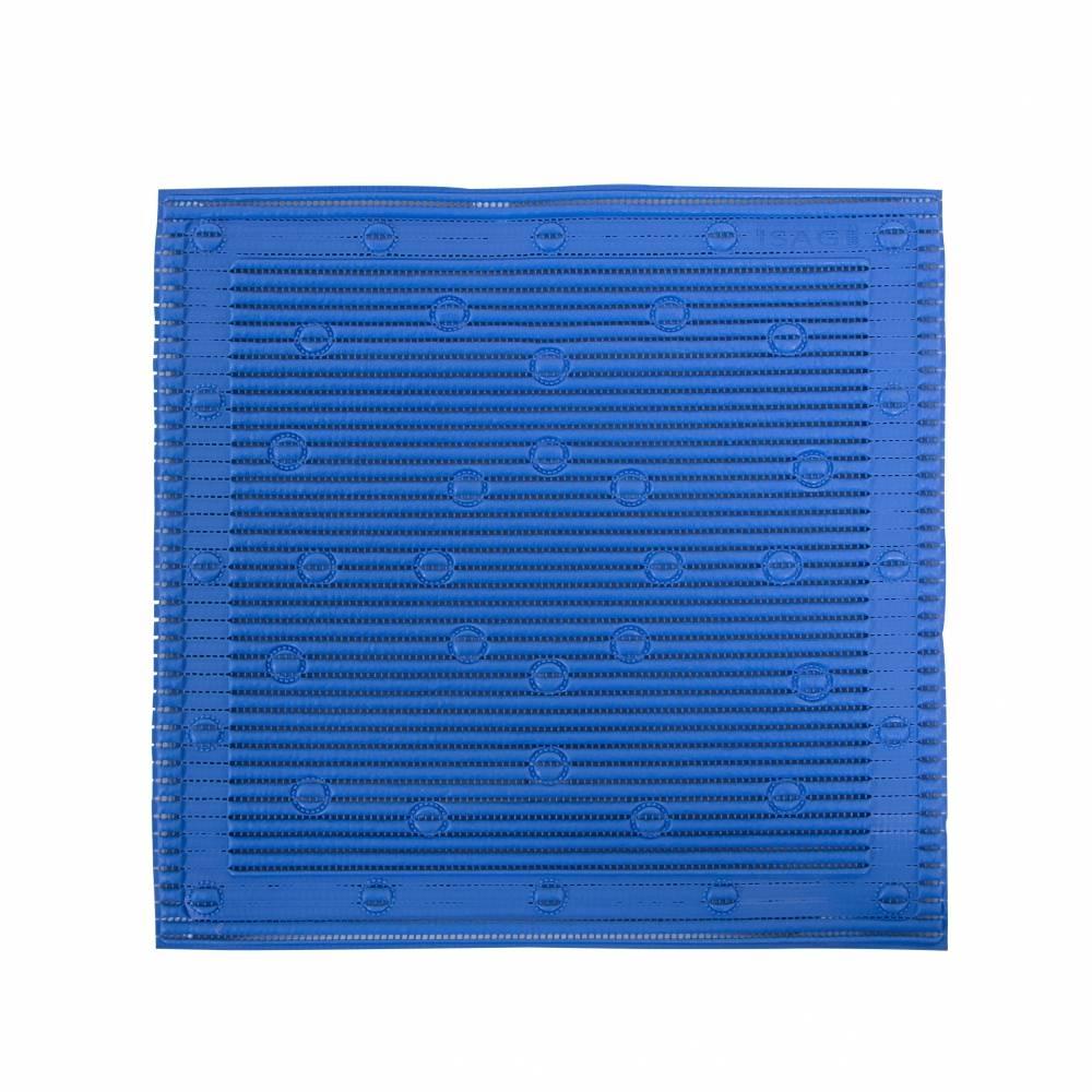 Anti-slip douchemat - blauw